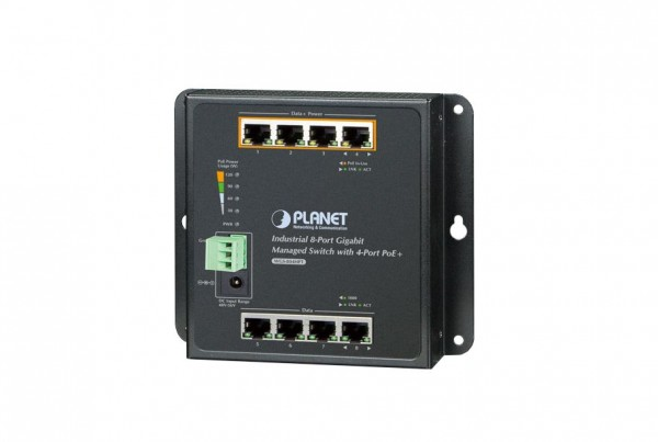 WGS-804HPT Industrial PoE Switch