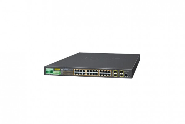 IGS-5225-24P4S Industrial PoE Switch