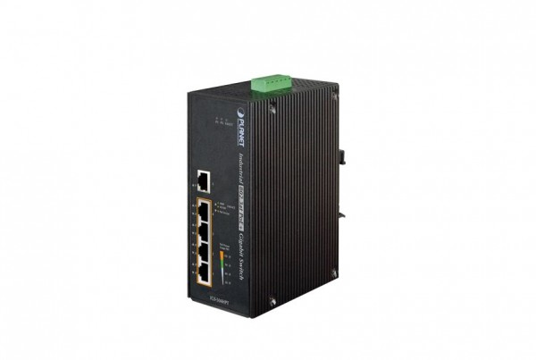 IGS-504HPT Industrial PoE Switch
