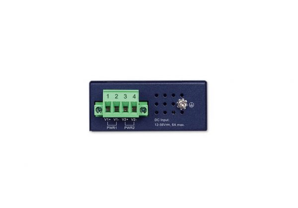 IPOE-260-12V Industrial PoE Injector Hub Top