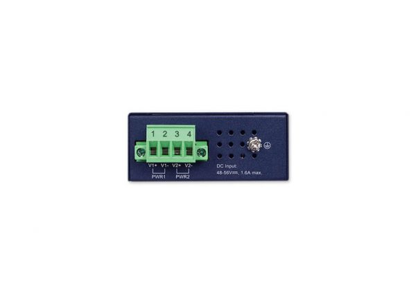 IPOE-260 Industrial PoE Injector Hub Top